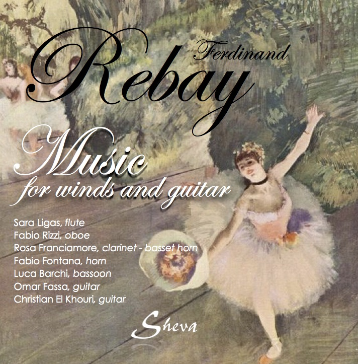 SHEVA 117 FERDINAND REBAY MUSIC FOR WIND AND GUITAR