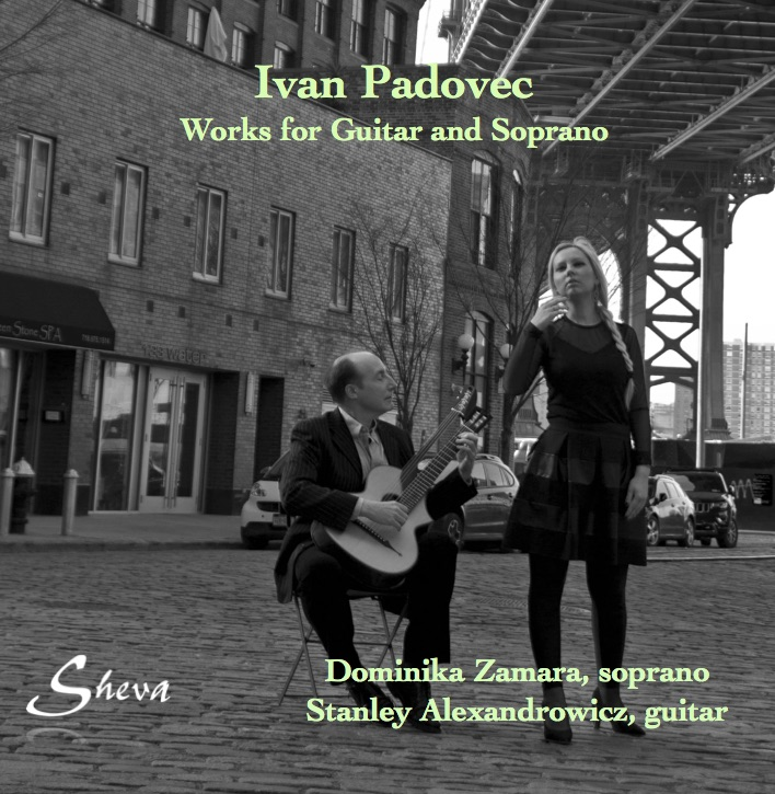 SHEVA 121 IVAN PADOVEC MUSIC FOR SOPRANO AND GUITAR