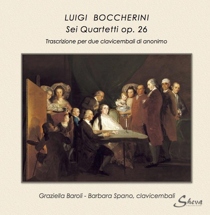 SHEVA 141 LUIGI Boccherini Sei Quartetti op. 26