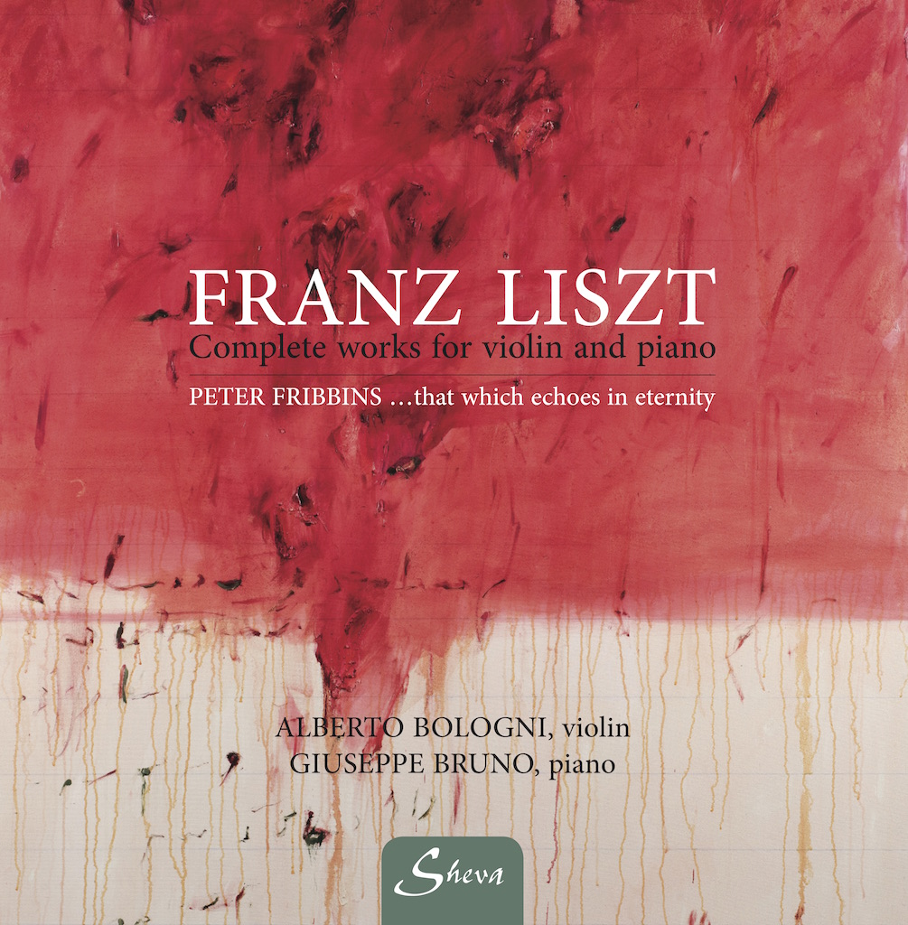 SHEVA 171 LISZT Complete works for violin and piano