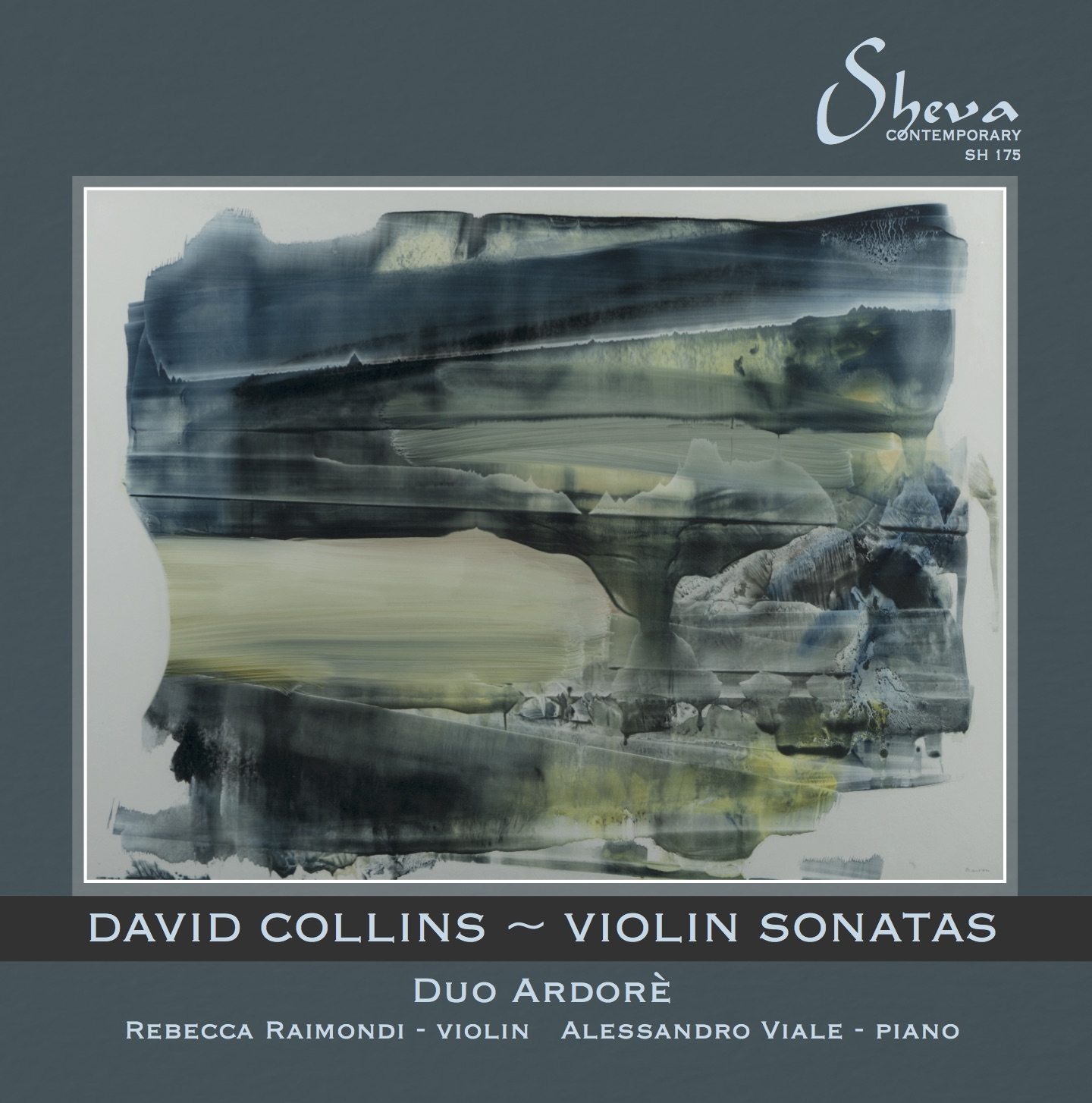 SHEVA 175 DAVID COLLINS Violin Sonatas