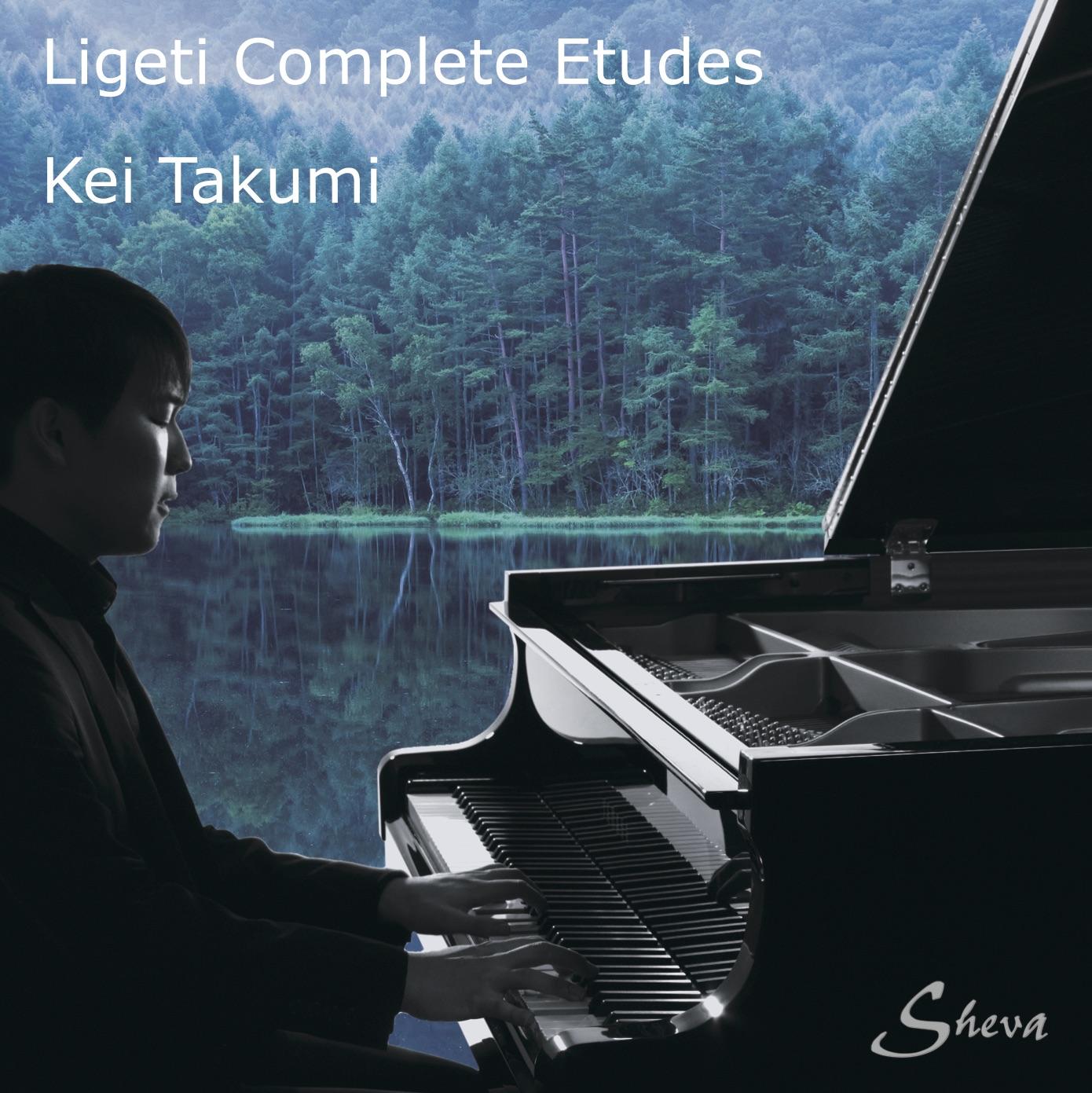 SHEVA 183 LIGETI Etudes pours piano