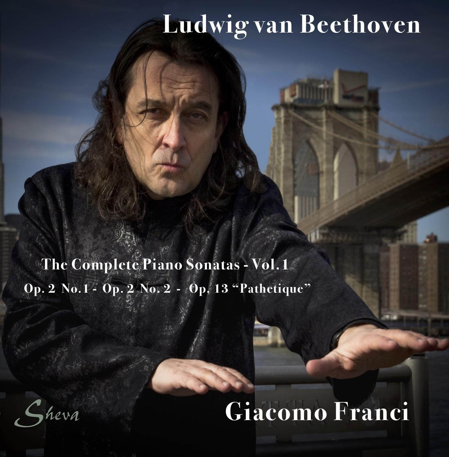 SHEVA 186 Beethoven Piano Sonatas Vol 1