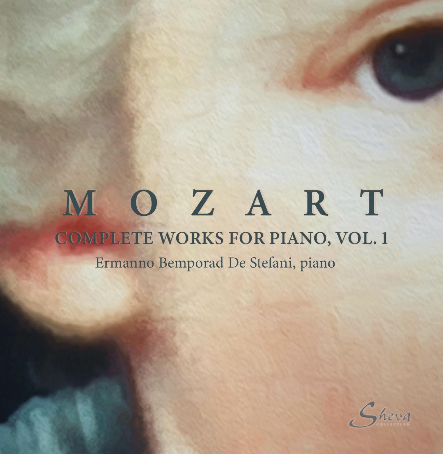 SHEVA 239 MOZART Complete music for piano Vol 1