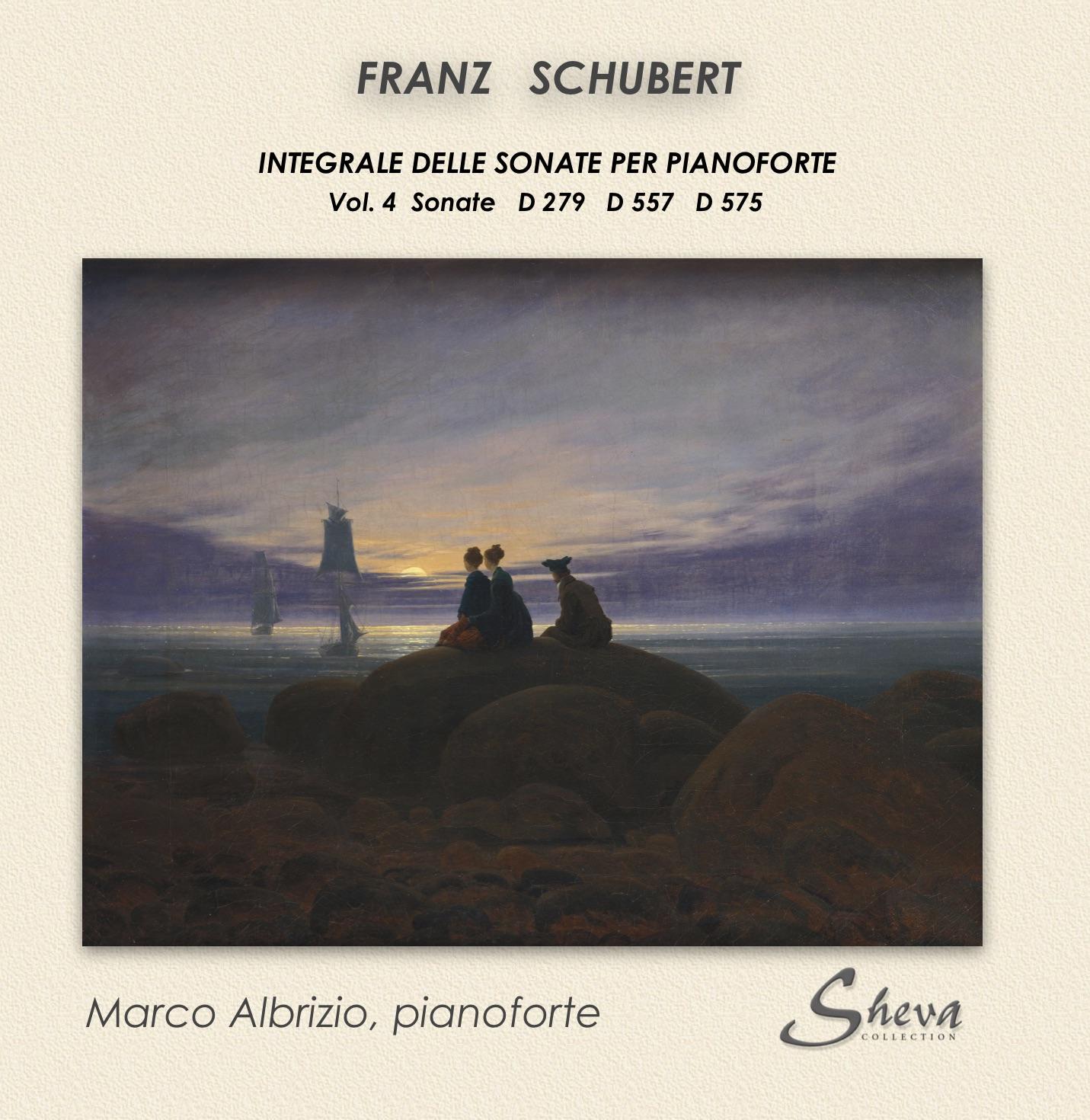SHEVA 255 SCHUBERT PIANO SONATAS Vol. 4