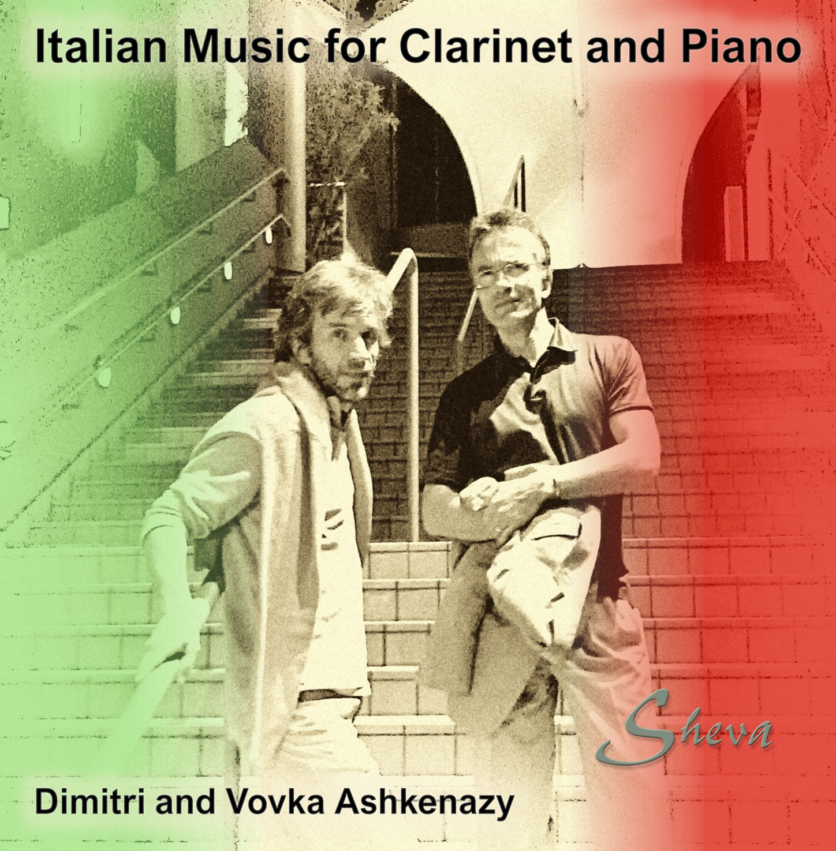 SHEVA 270 Italian Music for Clarinet and Piano