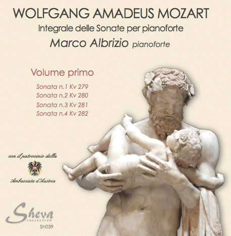 Sheva 039 MOZART - Sonate per pianoforte, Vol. I  Kv 279,280,281,282