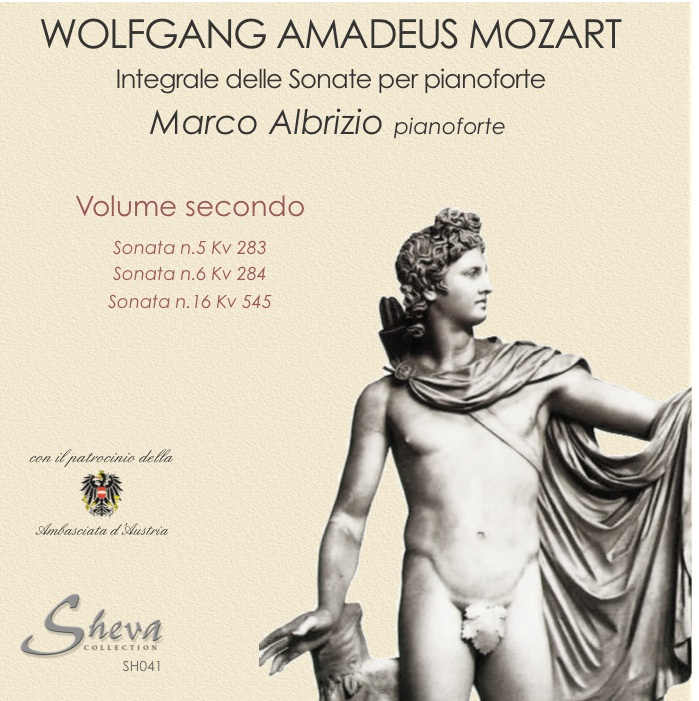 Sheva 041 MOZART Sonate per pianoforte Vol. II Kv 283, 284, 545