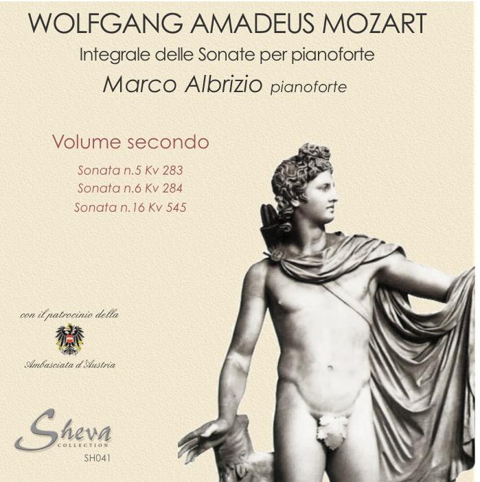 Sheva 041 MOZART Sonate per pianoforte Vol. II Kv 283, 284, 545
