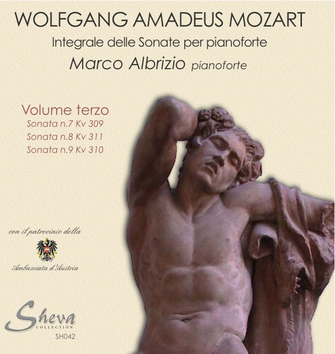 Sheva 042 MOZART - Sonate per pianoforte Vol. III Kv 309,311,310