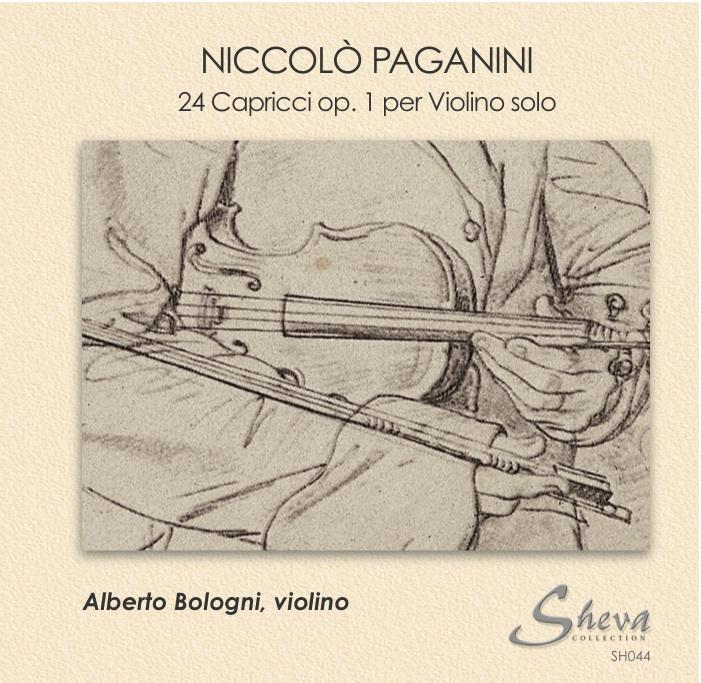 Sheva 044 NICOLO' PAGANINI 24 Capricci op 1