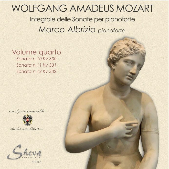 Sheva 045 MOZART - Sonate per pianoforte Vol. IV Kv 330,331,312