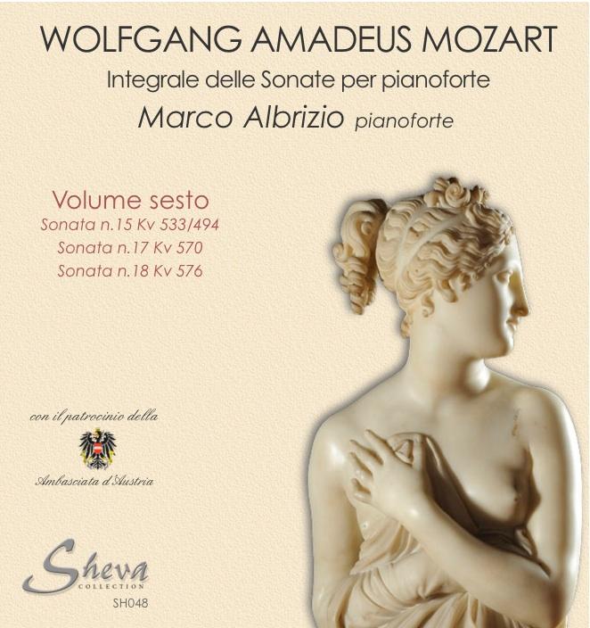 Sheva 048 MOZART - Sonate per pianoforte Vol. VI Kv 533/494, Kv 570,Kv 576
