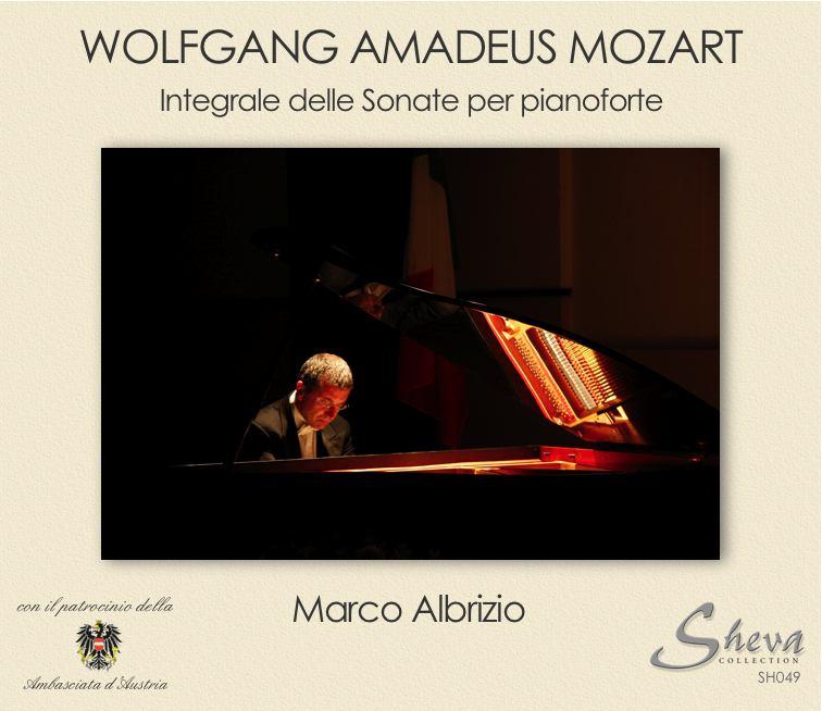 Sheva 049 Integrale sonate di Mozart