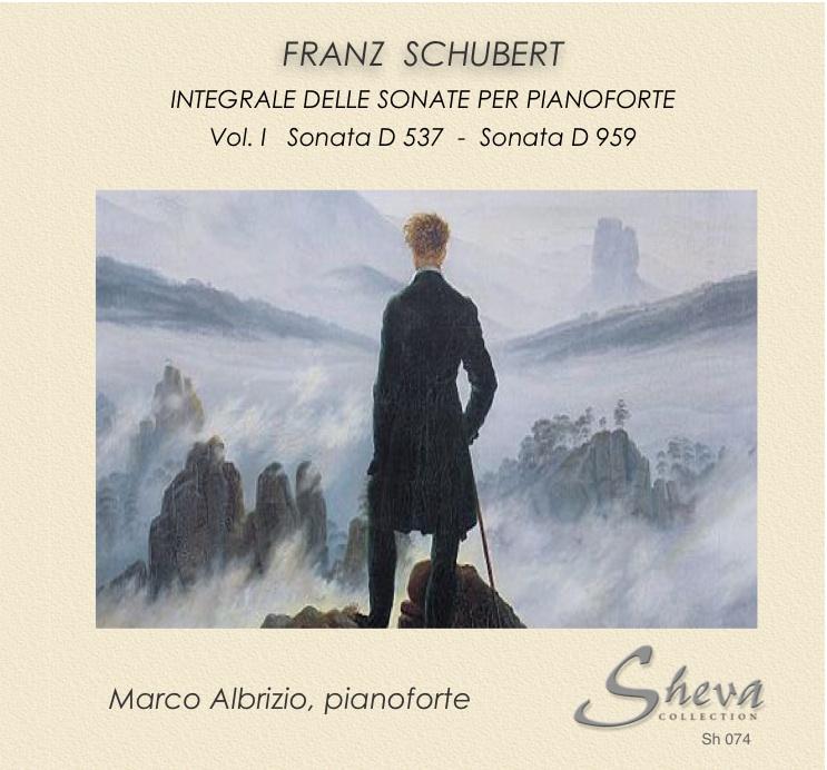 Sheva 074 Schubert Integrale delle sonate per pianoforte vol.I