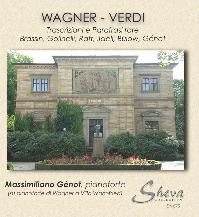 Sheva 075 WAGNER VERDI Piano Transcriptions