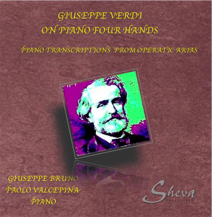 Sheva 078 Giuseppe Verdi on Piano four Hands