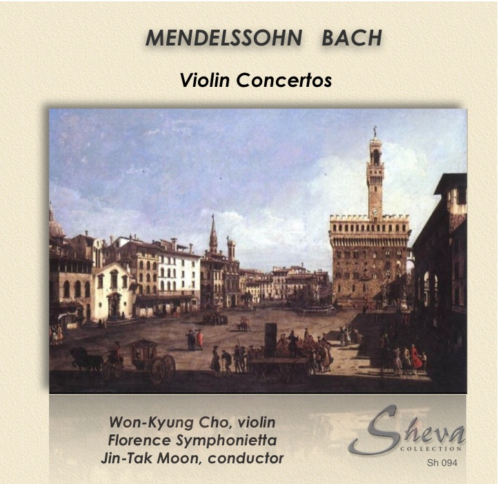 Sheva 094 Mendelssohn Violin concerto in D minor  Bach Violin concerto in A minor BWV 1041