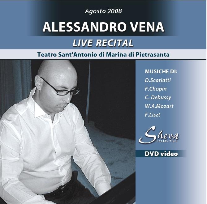 Sheva 102 Alessandro Vena in concerto