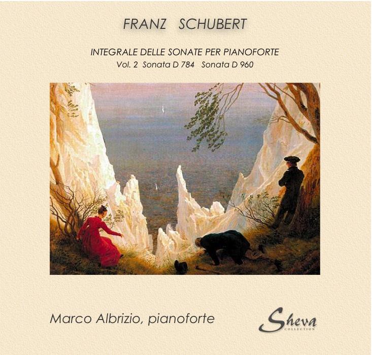 SHEVA 108 FRANZ SCHUBERT Piano Sonatas voll 2