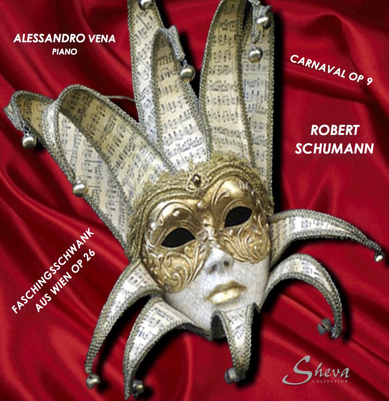 SHEVA 110 SCHUMANN Faschingsschwank aus Wien Op 26 - Carnaval Op 9