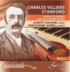 Sheva 100 CHARLES VILLIERS STANFORD Complete works for violin and piano